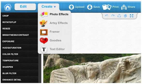 Web ´s con las buenas características para editar imágenes 4