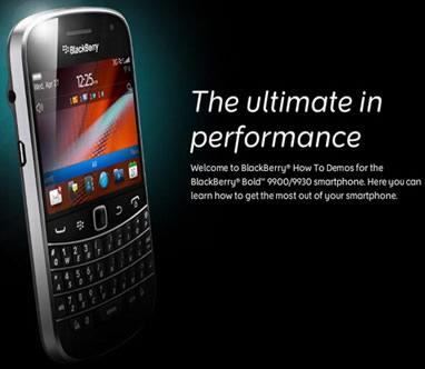 BlackBerry RIM anuncia nueva Bold 9900(+video) 1