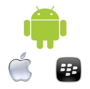 Android supera a BlackBerry en EE.UU e iOS se mantiene tercero 0