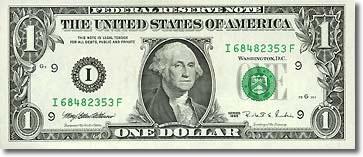 ¿Por qué los dólares son verdes? 0