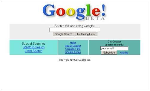 Cómo era Google en 1999, antes de la fama + video 1