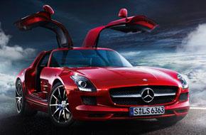 SLS AMG de Mercedes-Benz el auto deportivo de tus sueños. 1