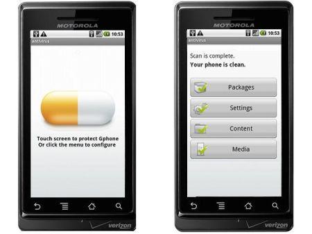 Algunos Antivirus para teléfonos con Android 4