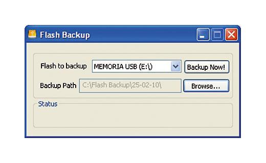 Cómo hacer copias de seguridad de tus memorias USB 1