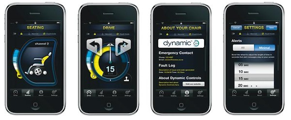 Desarrollan un sistema de control remoto de sillas de ruedas con el iPhone 0
