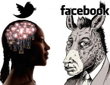 Según estudio usuarios de Twitter son mas cultos y de mejor poder adquisitivo que los de facebook 1