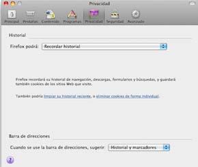 Configura la barra de direcciones de Firefox para no quedar en ridículo 0