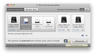Recupera tus archivos borrados en Mac con Disk Drill 1