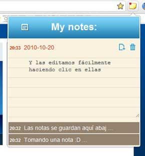 Sencilla aplicación para tomar notas en Chrome,Quickrr 1