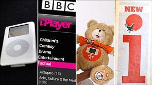 """En los últimos años hay cada vez más productos cuyo nombre inicia con una """"i"""" minúscula. foto I BBC"""