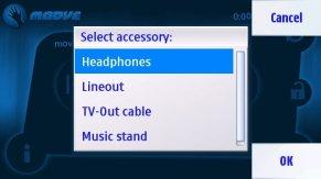 Moove! Reproductor de música gratis para Symbian 1
