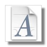 Fuentes, tipos de letra y recursos tipográficos 1
