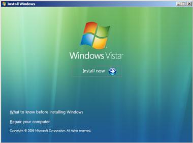 Truco Instalar Windows Vista Instalar