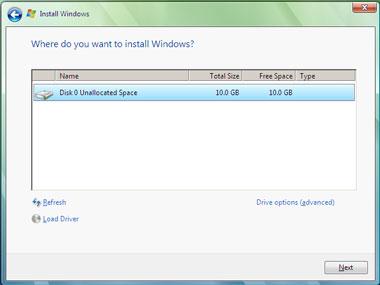 Truco Instalar Windows Vista Ruta Instalación