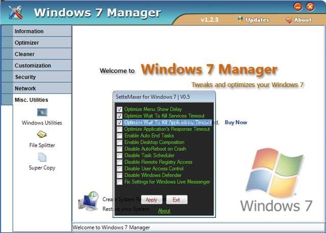 Trucos para optimizar el sistema en Windows 7 parte 1 9
