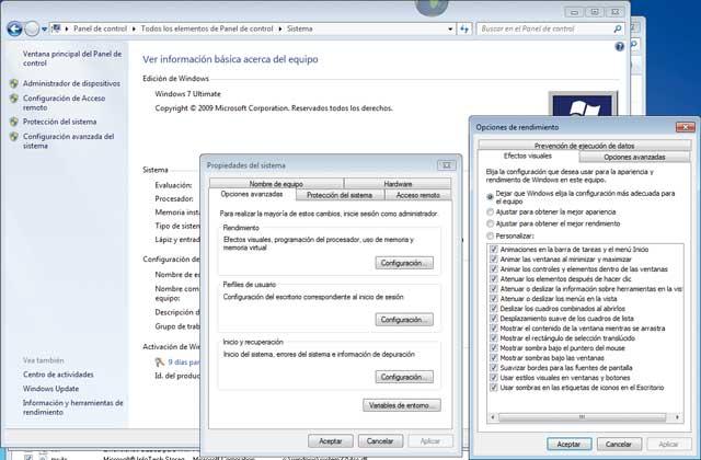 Trucos para optimizar el sistema en Windows 7 parte 1 7