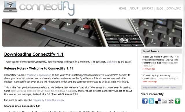Cómo compartir el 3G de mi portátil o PC via WiFi en Windows y Mac OX  2