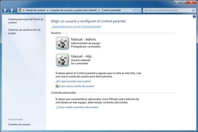 Cómo hacer Cuentas de usuario en windows 7 y creando cuentas restringidas a los mas pequeños de la casa 4
