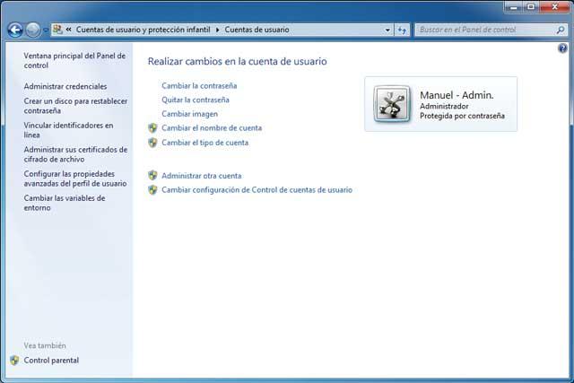 Cómo hacer Cuentas de usuario en windows 7 y creando cuentas restringidas a los mas pequeños de la casa 2