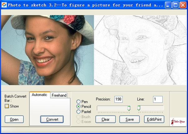 convertir fotos en dibujos
