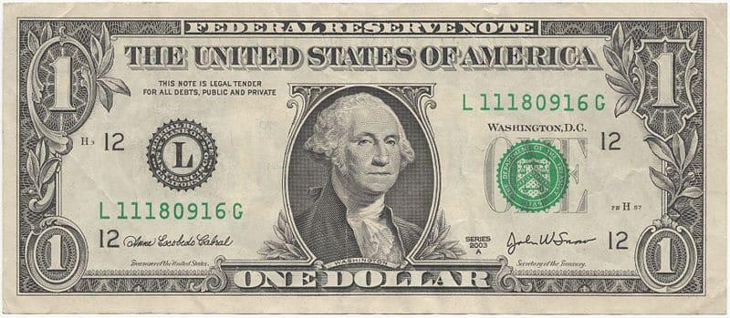 historia del dolar