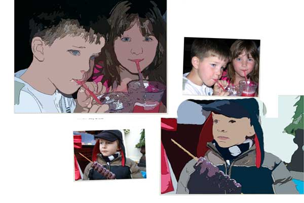 Convierte cualquier fotografía en un vector o en caricaturas Gratis con