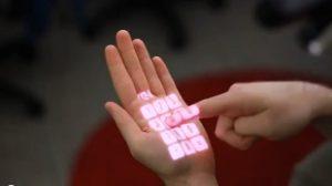 OmniTouch de Microsoft, un teclado en cualquier superficie 1