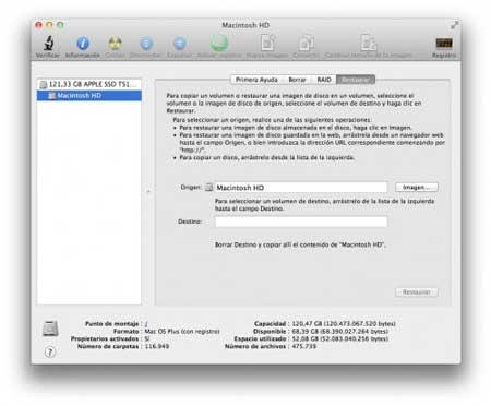 Cómo regresar de Mac OS X Lion a Snow Leopard 4