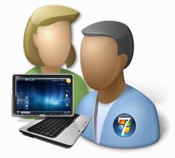 Como eliminar cuentas de usuario en Windows 7 1