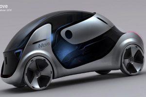 El supuesto vehículo que lanzaría Apple al mercado en el 2020: el iMove 1