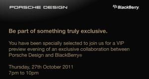 BlackBerry Bold 9980 Porsche Design el 27 de octubre 1