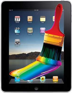 Aplicaciones espectaculares para dibujar con el iPad 1