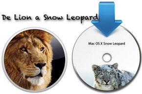 Cómo regresar de Mac OS X Lion a Snow Leopard 0