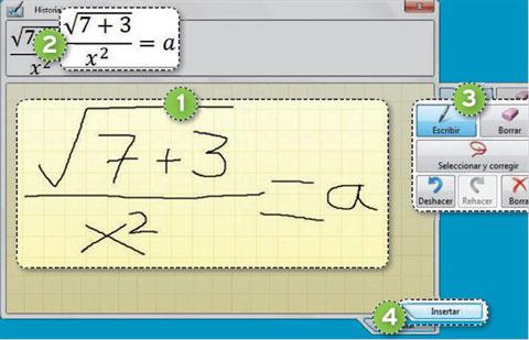 Cómo insertar fórmulas en tus documentos 0