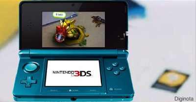 En Noviembre la Nintendo 3DS grabara videos en 3D 3