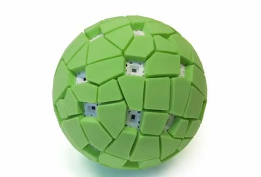 Esta pelota cámara toma fotos panoramicas 0