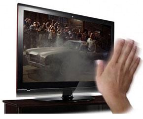 Una televisión con sistema Android y con control de gestos 0