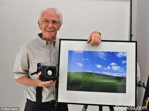 Chuck O'Rear, el autor de la fotografía más vista en el mundo el famoso fondo de windows  (+fotos) 1