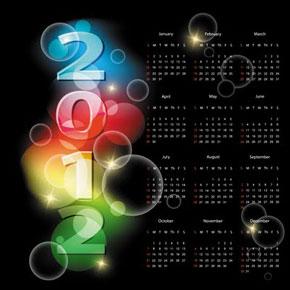 Photo of Descargar esta  Colección de Calendarios 2012 en PSD Photshop gratis