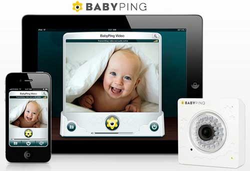 Vigila a tu bebé desde el iPhone con BabyPing 1