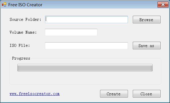 Cómo crear imágenes ISO fácilmente con Free ISO Creator 1