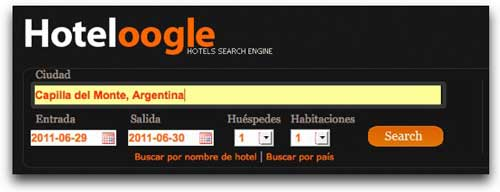 Photo of Sencillo pero potente buscador de hoteles en linea : Hoteloogle