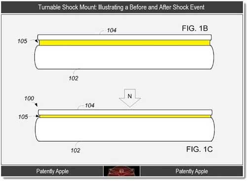 Apple patenta un curioso sistema airbag o anti-choque  para el iPhone 5 0