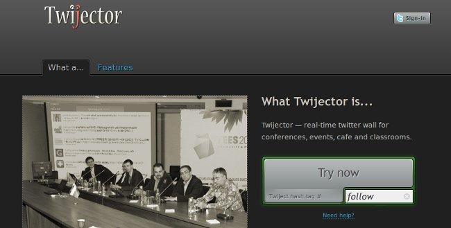 Ahora puedes seguir conferencias en vivo a través de twitter 1