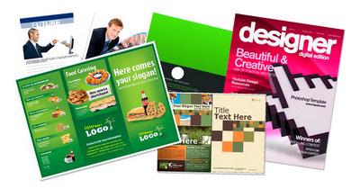 30 plantillas para brochures en PSD o trípticos, dípticos,carpetas,catalogos 1