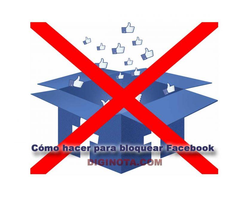 como bloquear facebook en ordenador o pc