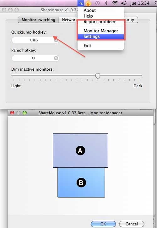 Cómo hacer para poder usar el mismo teclado y ratón en dos ordenadores MAC y Windows (miniguia) 1