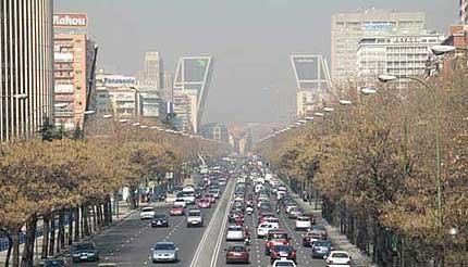 Decenas de millones de españoles respiran un aire malsano, Afecta seriamente a una gran parte de la población del país 4