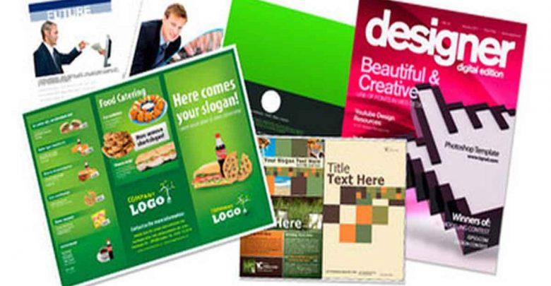 30 plantillas para brochures en PSD o trípticos, dípticos,carpetas,catalogos 6