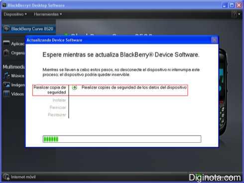 Como Hacer para actualizar el software o Sistema Operativo de un Blackberry con DM 6.0  (Mini-guia + Imágenes) 3